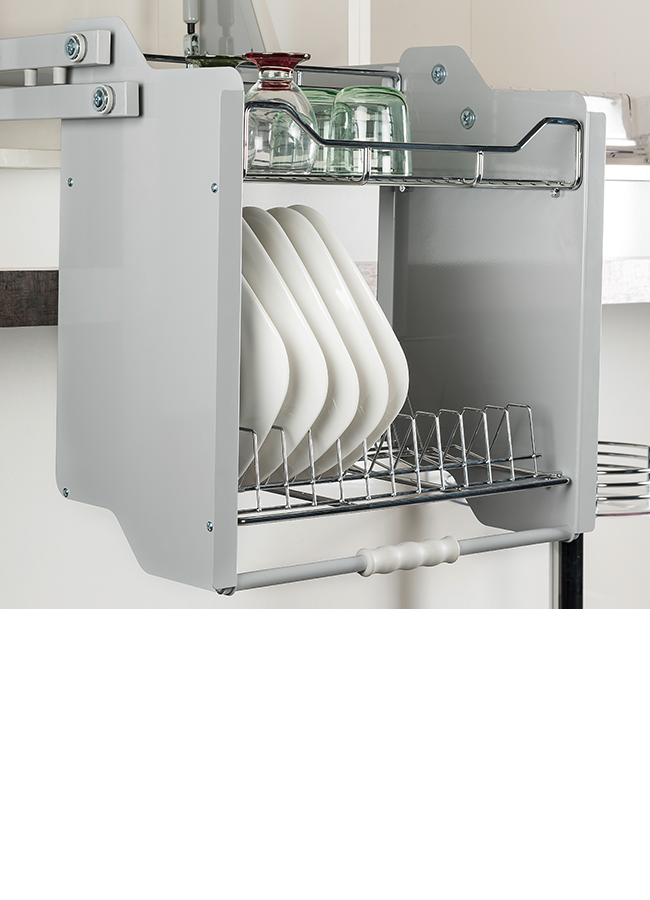 Pull Down Shelf With Lift