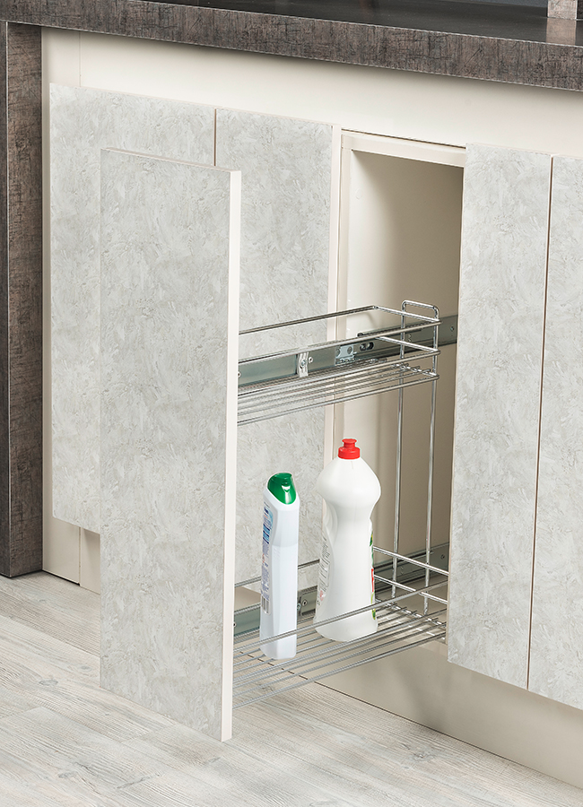 Detergent Holder With Tandem Rail (Single Extension)